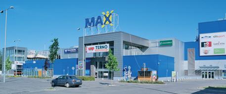 Zábavno obchodné centrum Max Nitra -