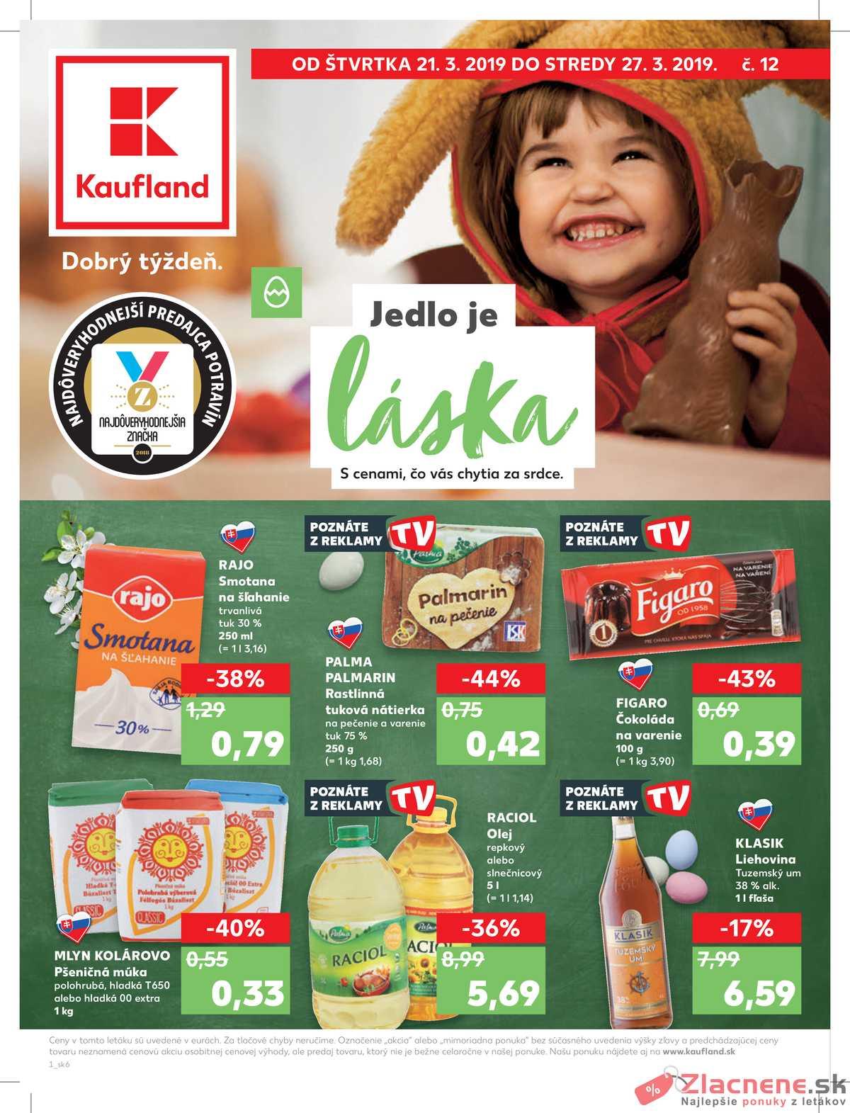 d6045b255 Leták Kaufland - Kaufland 21.3. - 27.3. - Kaufland Košice - Popradská -  strana