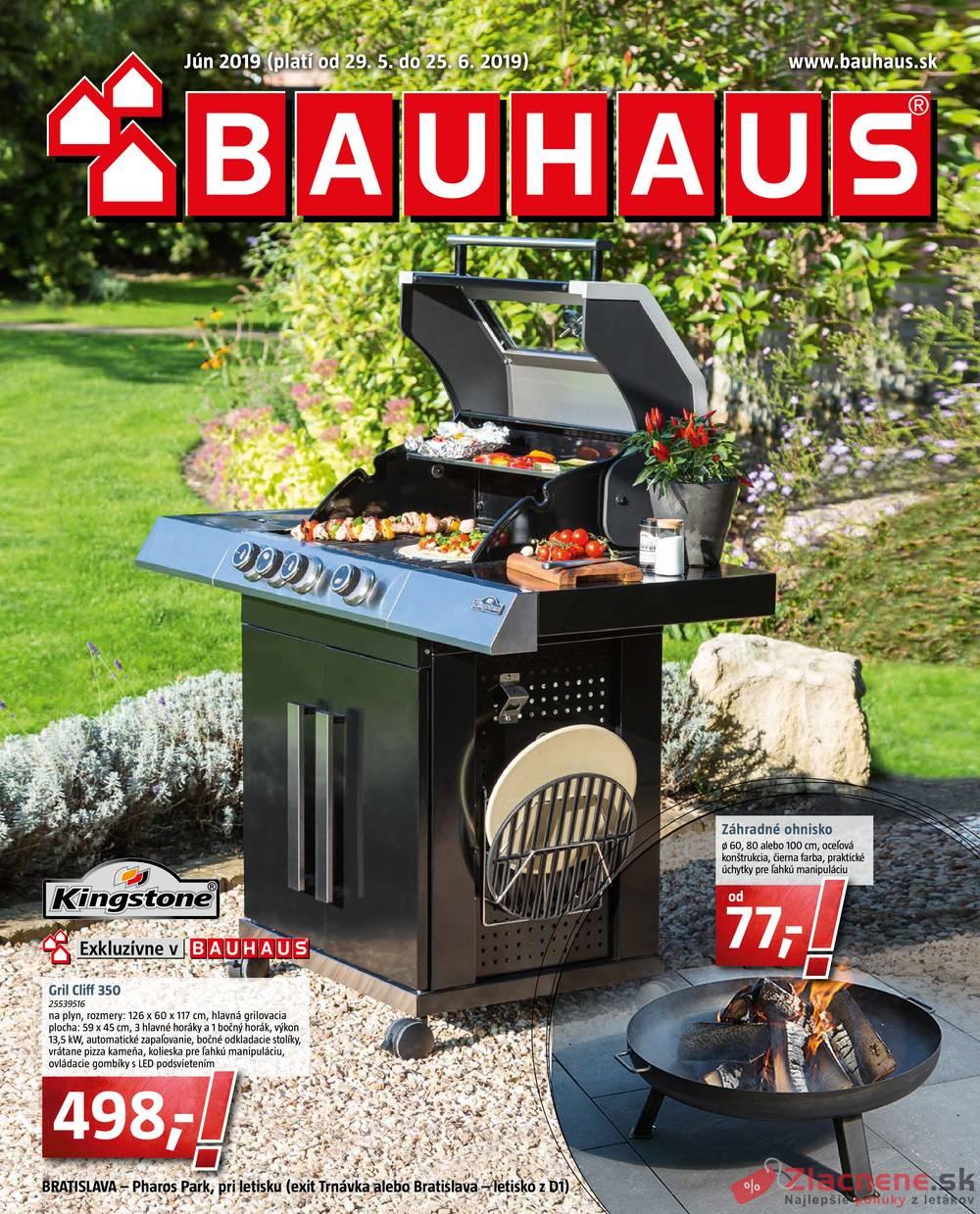 Leták Bauhaus - Bauhaus 29.5. - 25.6. - strana 1
