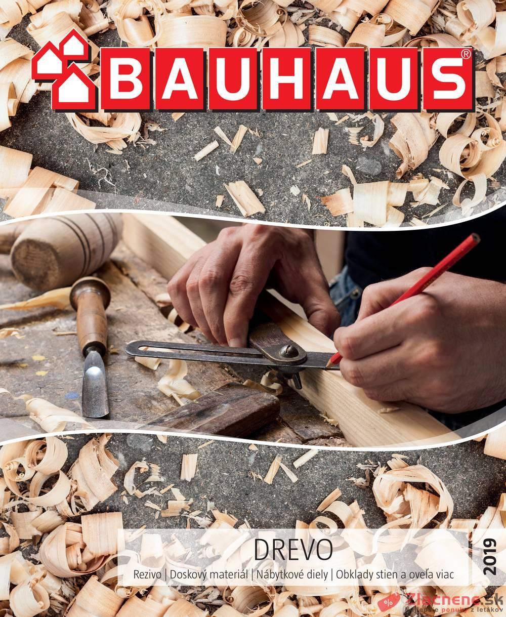Leták Bauhaus - Bauhaus Drevo 10.6. - 31.10. - strana 1