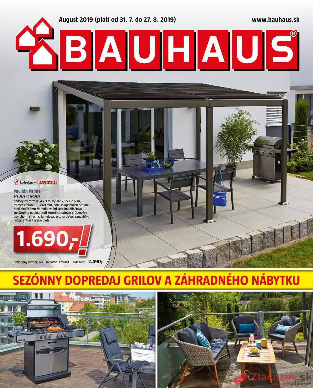 Leták Bauhaus - Bauhaus od 31.7. do 27.8.2019 - strana 1