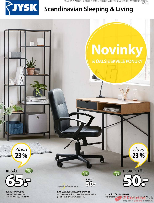 Leták Jysk - Jysk od 15.8. do 27.8.2019 - strana 1