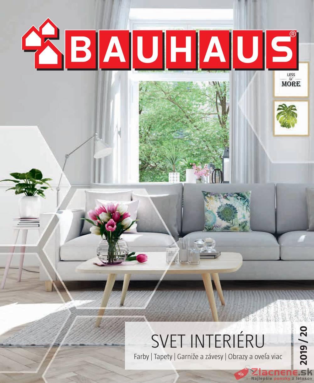 Leták Bauhaus - Bauhaus SVET INTERIÉRU od 9.9. do 29.2.2020 - strana 1