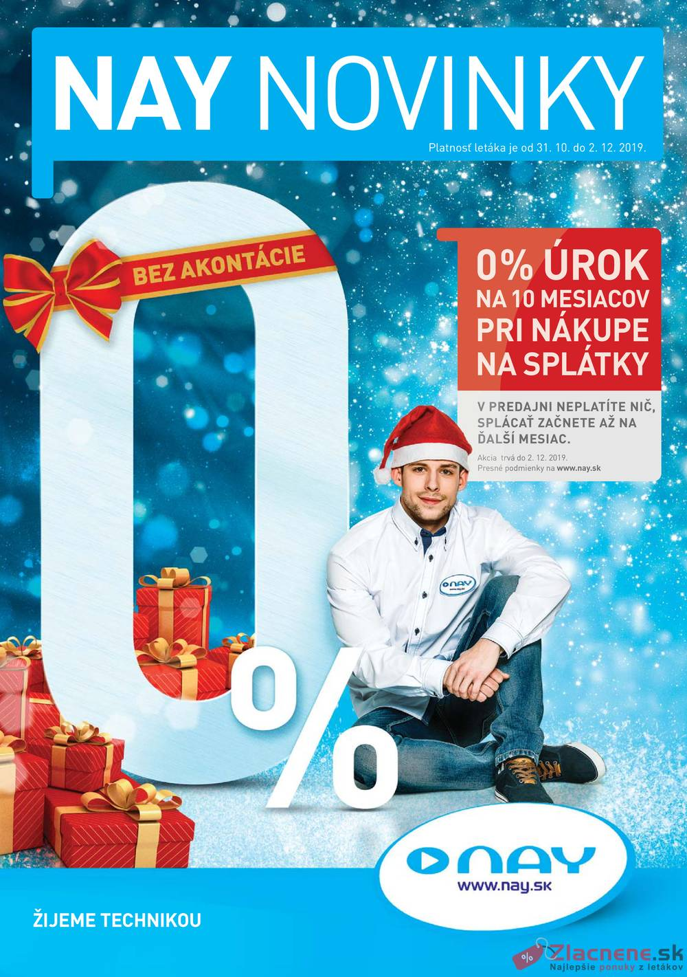 Leták NAY - NAY od 31.10. do 2.12.2019 - strana 1