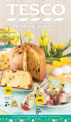 Leták Tesco malé hypermarkety katalog Velikonoce od 25.3. do 13.4.2020