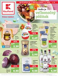 Leták Kaufland 26.3. - 1.4. - Kaufland Trenčín