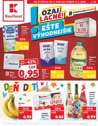 Leták Kaufland 28.5. - 3.6. - Kaufland Dubnica nad Váhom