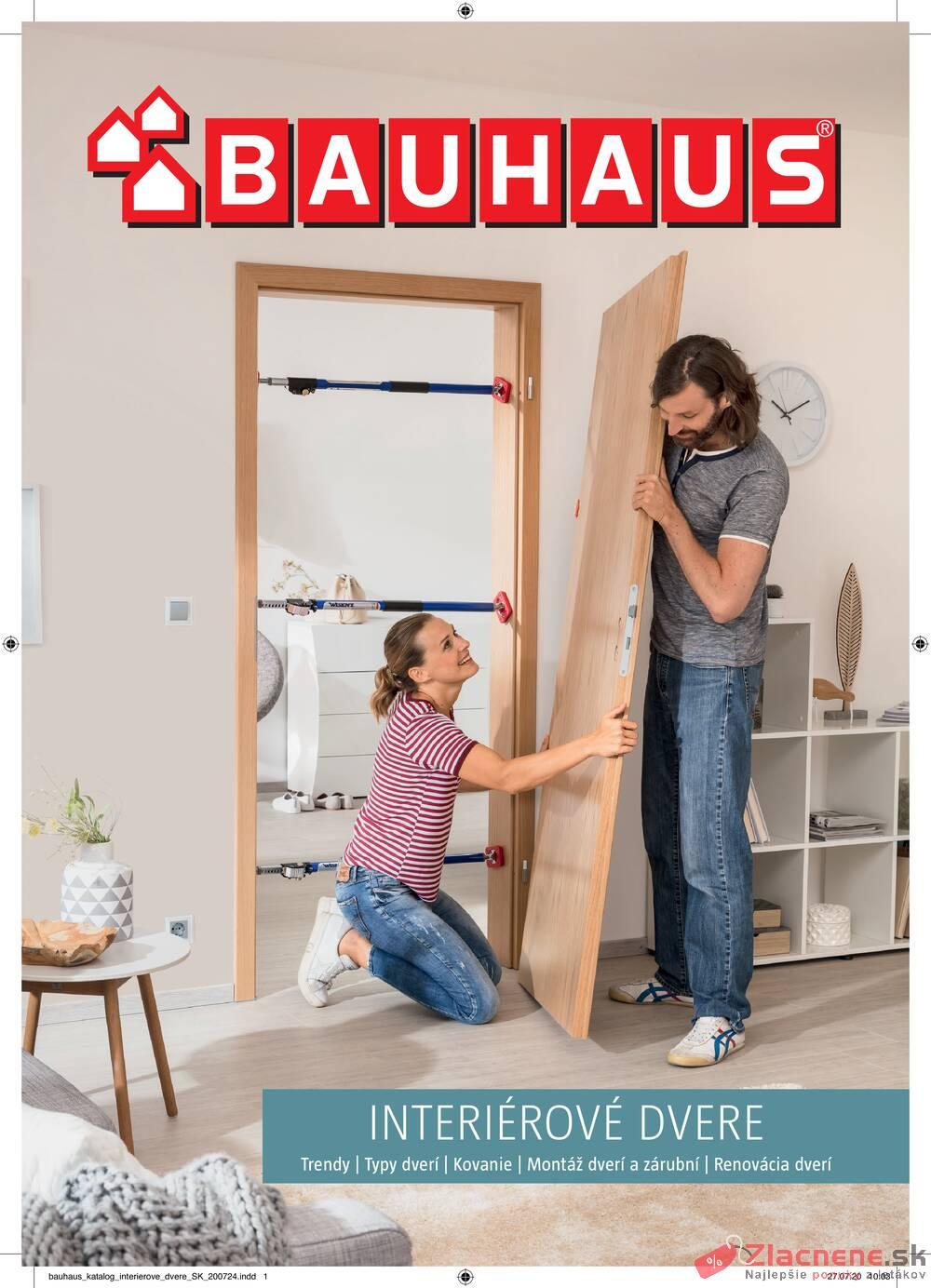 Leták Bauhaus - Bauhaus INTERIÉROVÉ DVERE do 31.12. - strana 1