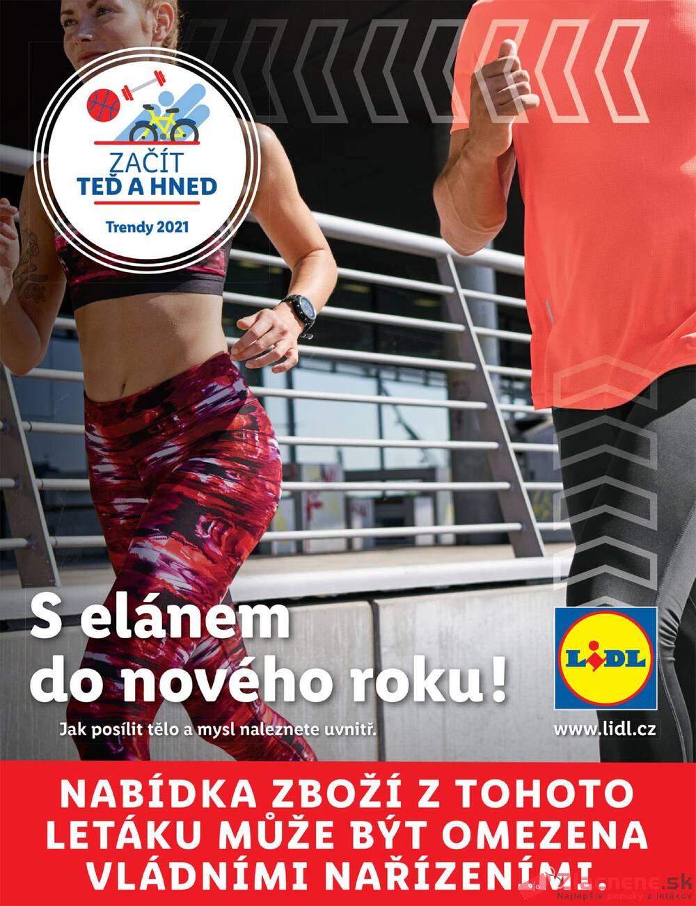 Leták Lidl - Lidl Fitness do 28.3. - strana 1