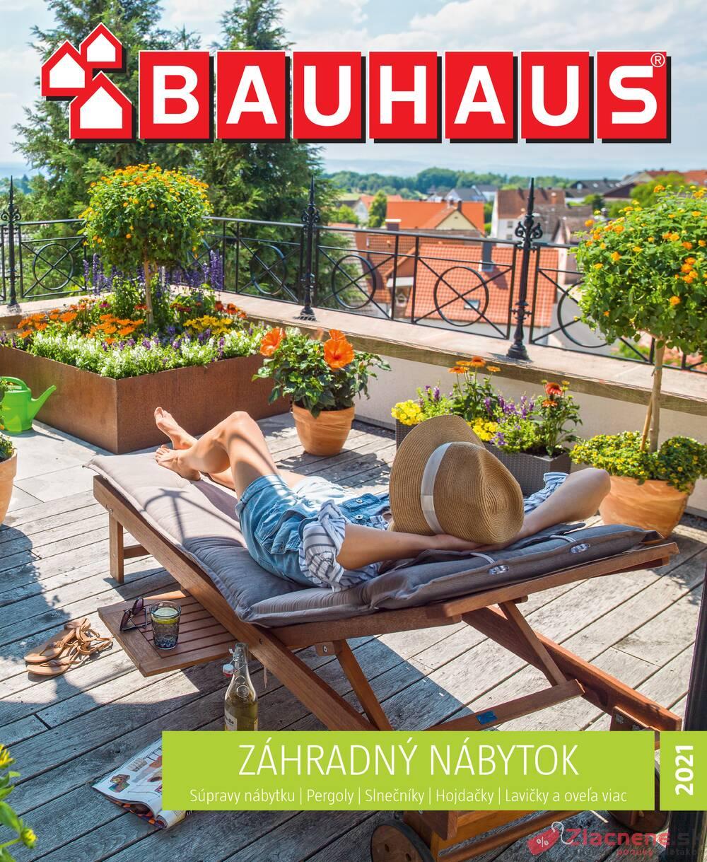 Leták Bauhaus - Bauhaus Zahradný nábytok 8.3. - 30.6. - strana 1