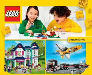 Leták Tesco LEGO katalog do 31.5.