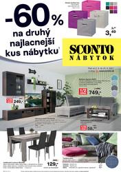 leták Sconto nábytok