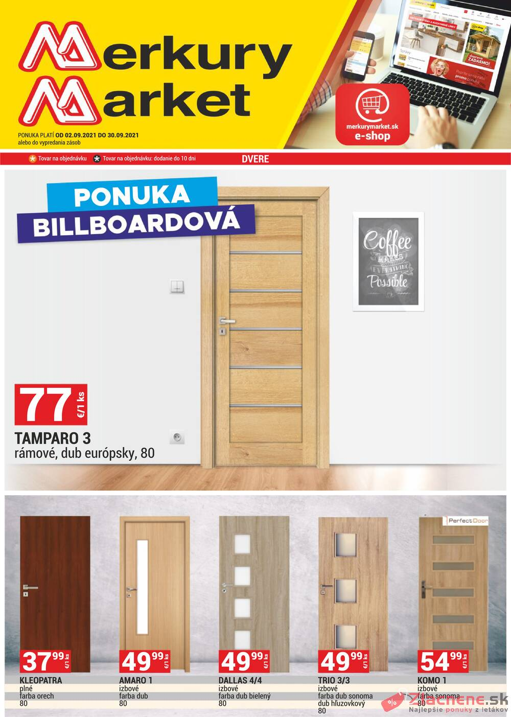 Leták Merkury Market - Merkury Market do 30.9. - strana 1
