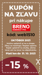 leták Koberce Breno